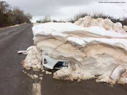 Is It A Car Or Snow Drift In Middle Of The Road