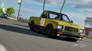 100 Pizza Planet Truck GMC Syclone Delivery Paint Booth Forza Motorsport
