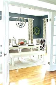 Dining Room Curtains Ideas Drapes Curtain Best On Informal Decorating Small