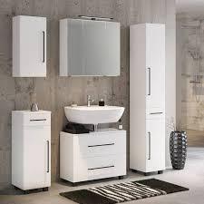 badezimmer hochschrank manly 03 weiß b h t 30 185 35 cm