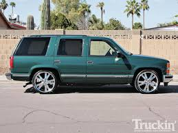 McGaughy's Lowering Kit On A 1998 Chevy Tahoe - Four-Door To Go ...
