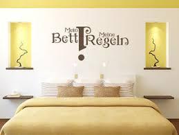 details zu wandtattoo wandsticker schlafzimmer sprüche mein bett meine regeln nr1 aufkleber