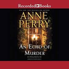An Echo Of Murder Audiobook Cover Art