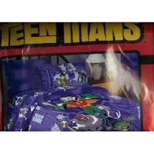 teen titans twin comforter robin starfire beast boy raven cyborg