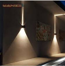 10w up outdoor led wall light cylinder porch l luminaria