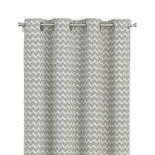 reilly 50 x84 grey chevron curtain panel crate and barrel