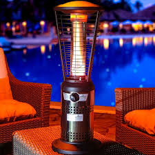 Living Accents Patio Heater by Steel Petagadget