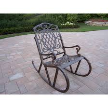 Oakland Living Mississippi Cast Aluminum Patio Rocking Chair ... Antique Folding Rocking Chair Chairish Wood Carved Griffin Lion Dragon For Porch Outdoor Fniture Safaviehcom Patio Metal Seat Deck Backyard Glider Rocking Chairs For Front Porch Annauniversityco Vintage Rocker Olde Good Things Detail Feedback Questions About Wooden Tiger Oak Cane Activeaid Hinkle Riverside Round Post Slat Back