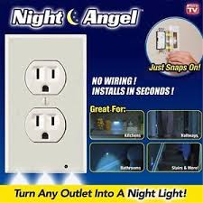 new design wall outlet cover plate cover led lights hallway
