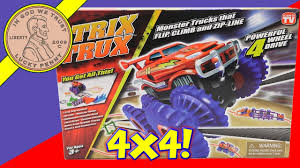 100 Monster Truck Track Set Trix Trux S That Flip YouTube