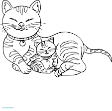 81 Beautifull Coloring Page Kawaii Cat Download Coloring Pages