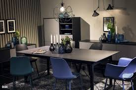 Blue And Black Dining Chair Unique Pendant Lights Gray Rug Black And