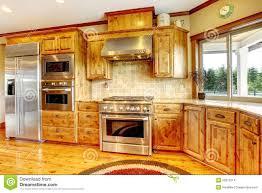 cuisine americaine de luxe intérieur à la maison de luxe en bois de cuisine maison neuve d