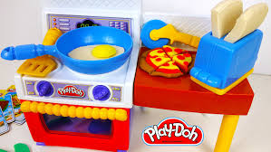 Play Doh Food Kitchen Meal Makin Play Dough Pizza Yummy Like Real