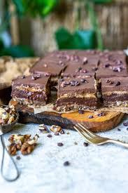 schokoladen schnitten mit buchweizen