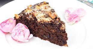 fabelhaft samtiger schokolade nuss kuchen mit crunch
