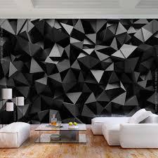 vlies fototapete abstrakt schwarz 3d effekt tapete