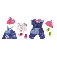 Baby Born Deluxe Babys First Clothing Set The Entertainer