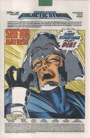 AVENGERS WEST COAST 82 Marvel Comic Book 5 1992 Operation Galactic Storm 16