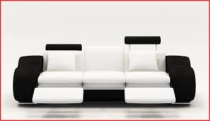 canape relax cuir blanc canape relax cuir blanc 64733 deco in canape design 3 places