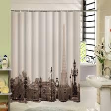 Paris Eiffel Tower Bathroom Decor by Popular Shower Curtains Paris Buy Cheap Shower Curtains Paris Lots