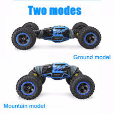 Climbing Rc Car 4WD 2.4GHz Rock Rally 4x4 Double Motors Bigfoot Car ...