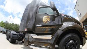 100 Who Makes Ups Trucks UPS Strays From Electric With 130M Investment In Natural Gas Fleet