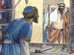 Free Bible Visuals Jesus Calls Matthew When Asks A Tax Collector To Become