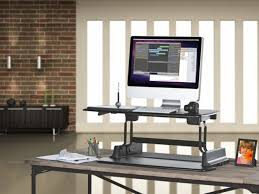 varidesk height adjustable standing desk for cubicles cube stylish