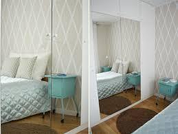 wand streichen muster ideen schlafzimmer ecru weiss wände