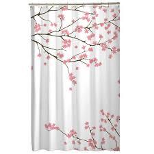 Walmart Canada Bathroom Curtains by Mainstays Cherry Blossom Fabric Shower Curtain Walmart Canada