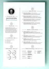 Single Page Resume Format Download Template Simple One Sample For