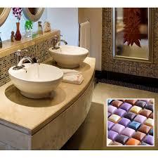 Brown Mosaic Bathroom Mirror by Tile Mosaic Glazed Ceramic Bathroom Mirror Wall Decor Kitchen