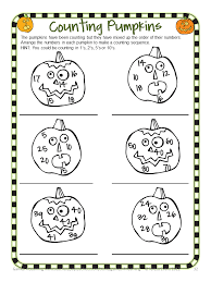 Halloween Brain Teasers Worksheets by Fun Games 4 Learning October 2013