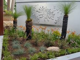 Native Garden By Brookes Blooms With Grass Trees Kangaroo Paws Lomandras
