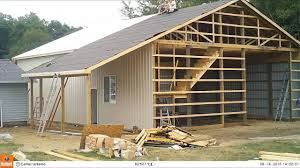 Door Todd Monde Home Improvement Garage For C L M Pole Barn ... Roof Awesome Roof Framing Pole Barn Gambrel Truss With A Kids Caprines Quilts Styles For Timber Frames And Post Beam Barns Cstruction Part 2 Useful Elks Hybrid Design The Yard Great Country Frame Build 3 Placement Timelapse Oldfashioned Pt 4 The Farm Hands Climbing Fishing Expansion Rgeside Quick Framer Universal Storage Shed Kit Midwest Custom Listed In