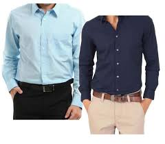 Buy Set Light Blue And Royal Blue Shirts line