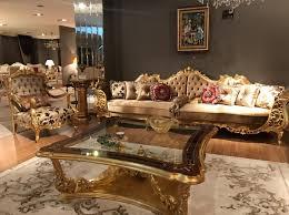casa padrino luxus barock wohnzimmer sofa braun creme gold 360 x 100 x h 115 cm prunkvolles sofa im barockstil edle barock wohnzimmer möbel