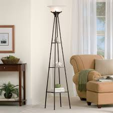 Mainstays Floor Lamp With Reading Light Brown by Mainstays Etagere Floor Lamp Cool Floor Lamps