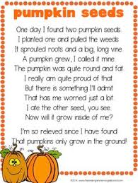Poems About Halloween That Rhymes by It U0027s Fall Cute Poem For Pumpkins Kinderland Collaborative