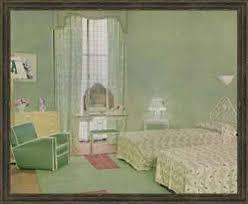 grün weiß farbschema für ein schlafzimmer 1938