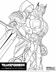 Coloriage Transformers Optimus Prime à Imprimer