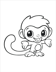 Animal Color Page Amazing Baby Animals Coloring Pages To Print Best Gallery Design Ideas Cute Kawaii