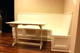 Booth Dining Table Style Nook Set Corner Room Sets White