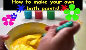 Bathtub Fingerpaint Soap Recipe by How To Make Bath Paint Homemade Diy Bath Paint Perfect Babies