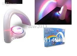 wholesale lucky rainbow 5 led bulbs amazing rainbow projector two