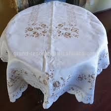 Underlay Table Cloth Embroidery