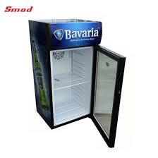 Display Refrigerator Desk Top Glass Door Small Fridge
