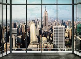 New York City View Wall Mural Wallpaper