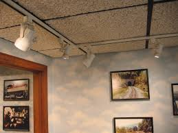 Suspended Ceiling How To by Track Lighting For Drop Ceiling Ceiling Designs